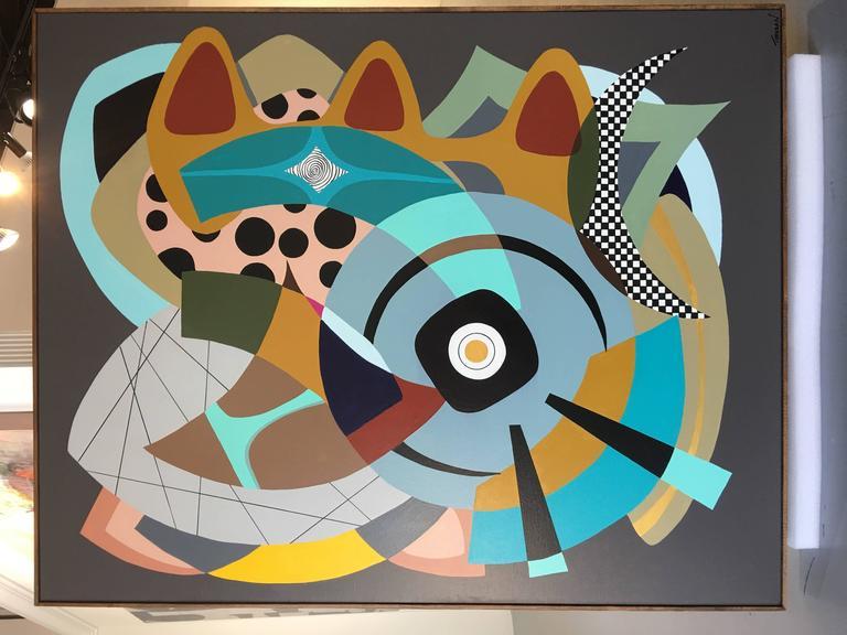 Painting on Canvas Titled: Wonderland  2