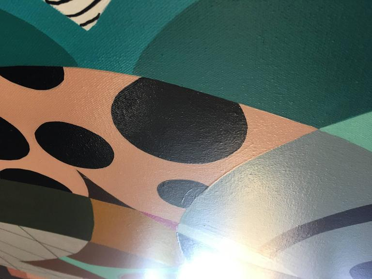 Painting on Canvas Titled: Wonderland  5