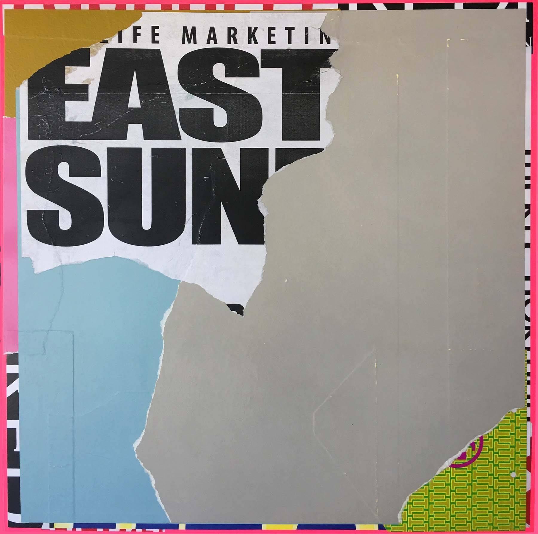 "Mixed Media Painting Titled: ""EastSide"""