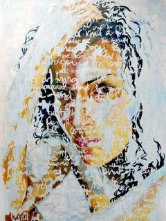 "Oil on Canvas Titled: ""Nina"""