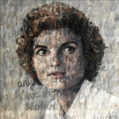 Oil on Canvas of Jackie O