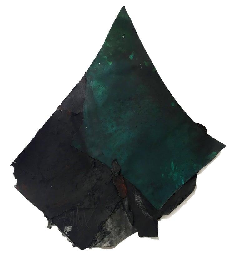 Wesley Kimler Abstract Painting - Jewel Tone 1