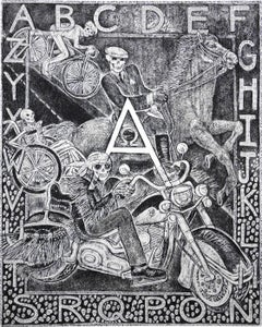 The Alphabet and the Numbers (Boxed set of 39 etchings)