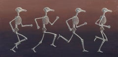 Running Pigeonman after Muybridge