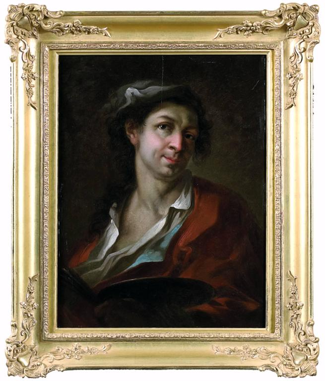 Giosuè Scotti Portrait Painting - Portrait of an artist