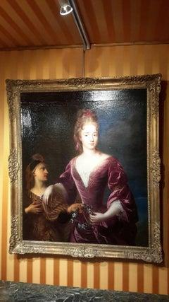Portrait of Marquise Louise Catherine de Crussol d'Uzès