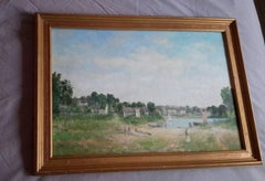 Post Impressionist  Style Brittany Landscape Oil by Jan Znosko