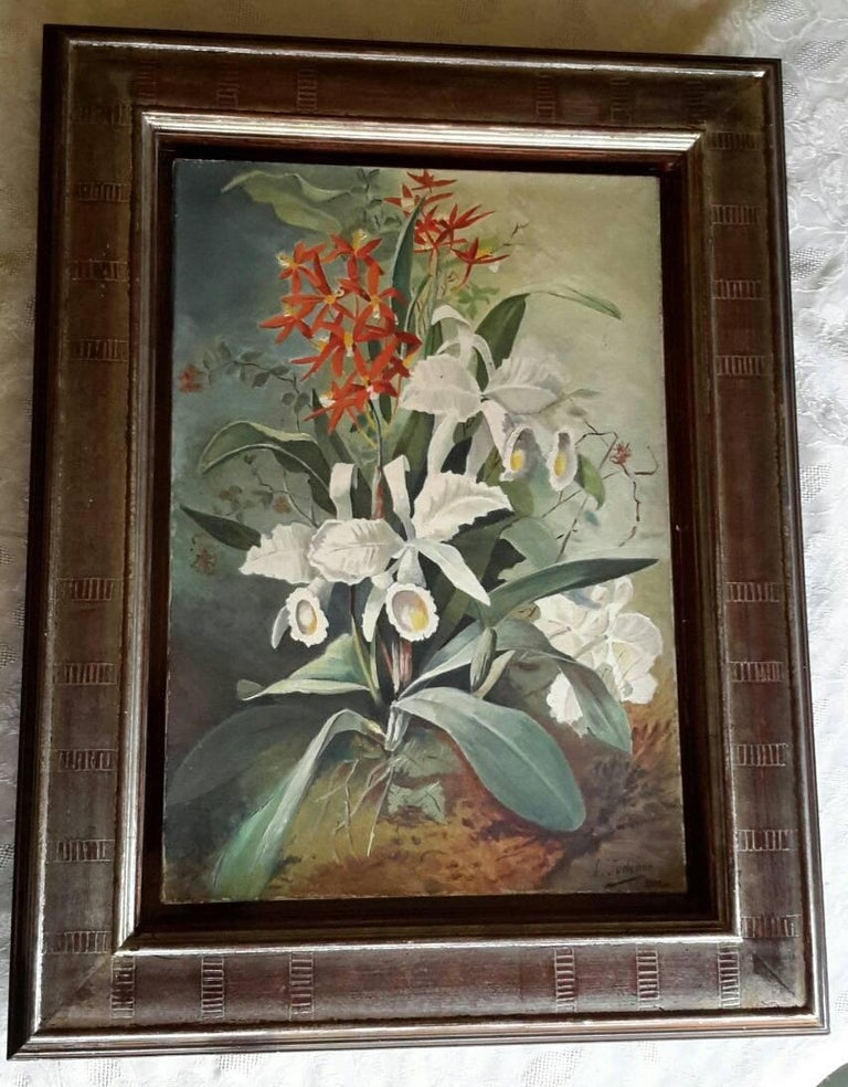 19th Cent  French Still Life by L. Judenne
