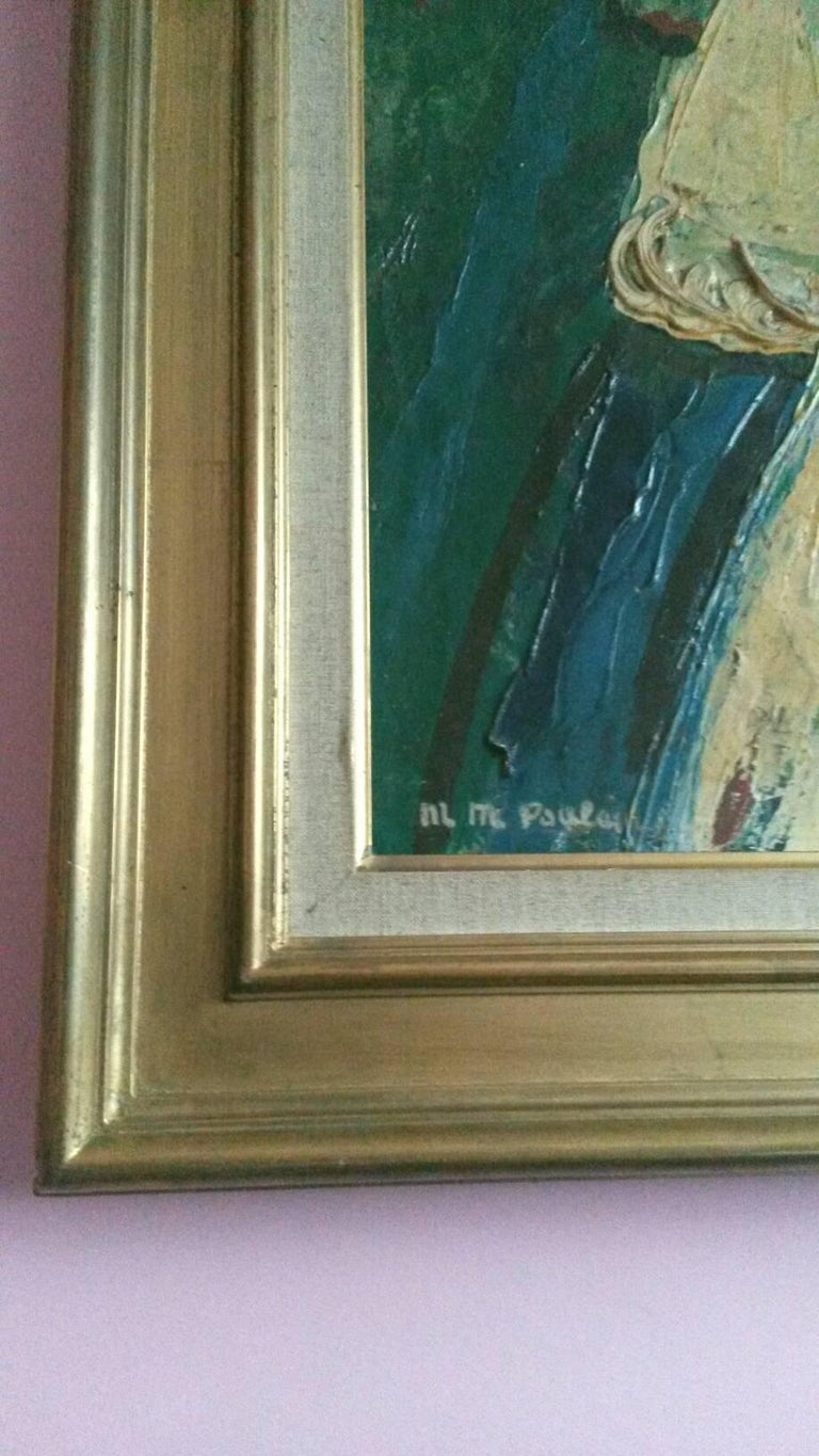 The Queen , 1947, by French Transgender Artist JM Poulain  For Sale 1