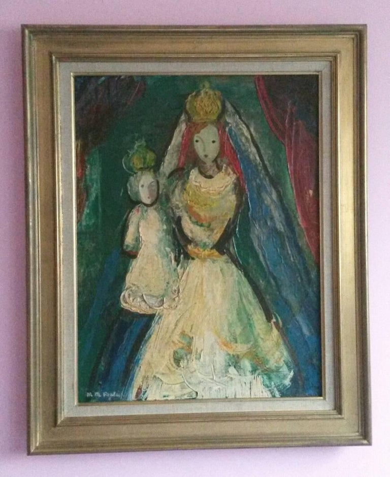 The Queen , 1947, by French Transgender Artist JM Poulain  For Sale 3