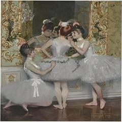 Drei Ballerinen / Three Ballerinas