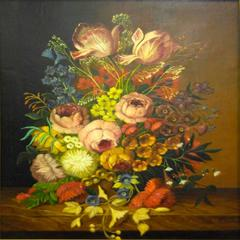 Still Life with Bouquet of Assorted Flowers