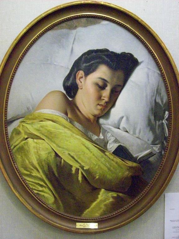 Federico Maldarelli  Still-Life Painting - Le Coucher