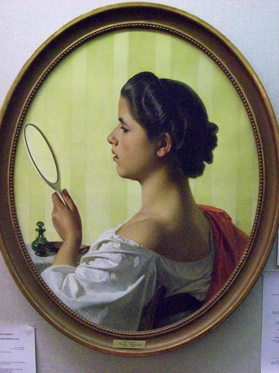 Federico Maldarelli  Still-Life Painting - La Toilette