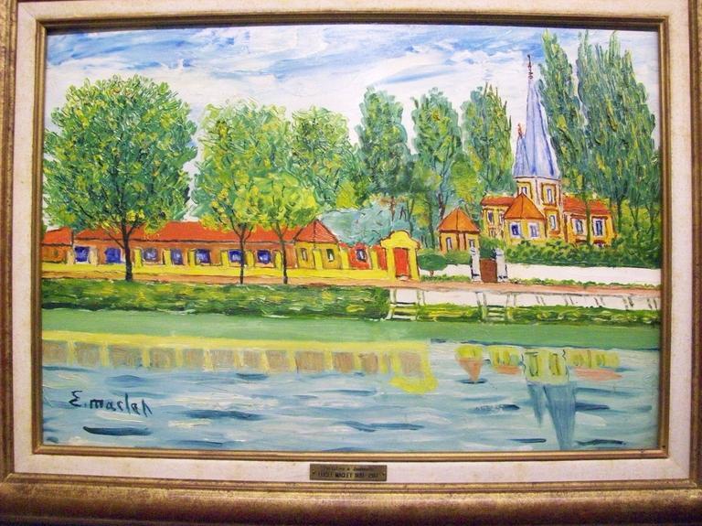 Elisée Maclet Interior Painting - Portofino a Jouinuelle