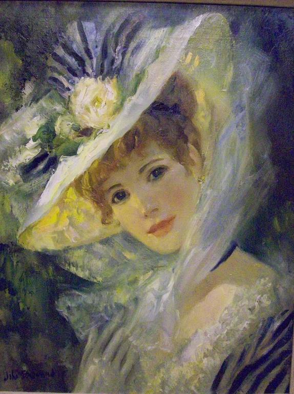 John Strevens Portrait Painting - Celine