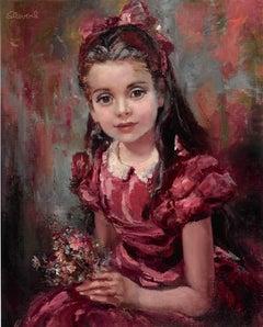 Bridget in Red