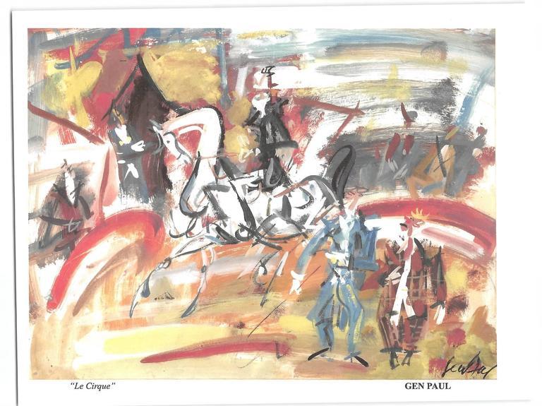 GEN PAUL Interior Painting - Le Cirque