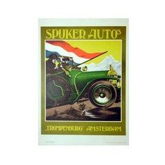 Spuker Auto Vintage Poster
