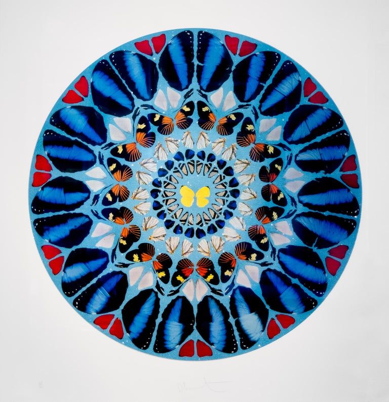 Ad te, Domine, Levavi, from Psalm Prints - Art by Damien Hirst