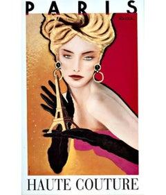Haute Couture Paris – Razzia Original Poster