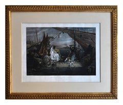 GULF OF NAPLES WITH BOAT AND MARRIED COUPLE