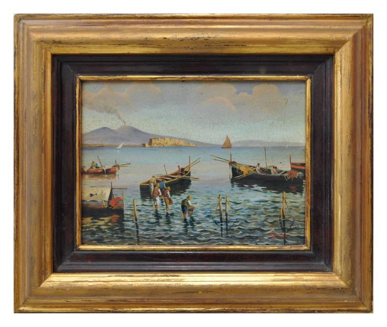 Mario Vassetti Landscape Painting - NAPLES