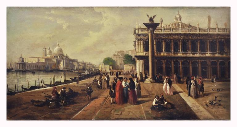 Giancarlo Gorini Landscape Painting - VENICE