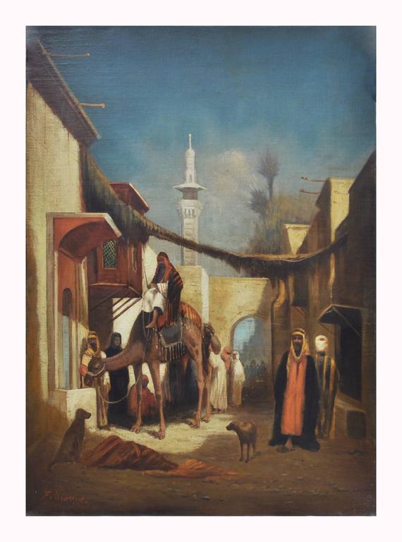 Francoise Vigneron - ARABIAN SCENE 1