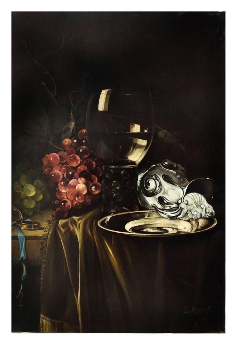 Salvatore Marinelli Still-Life Painting - STILL LIFE