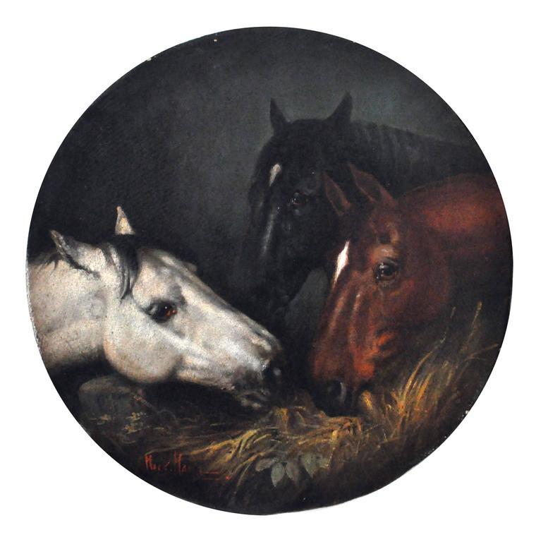 Mark Majer Animal Painting - HORSES