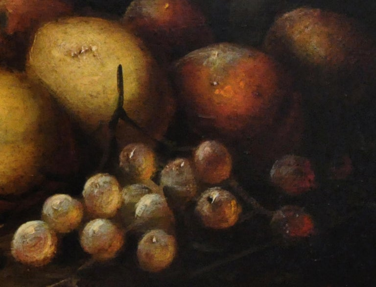 STILL LIFE - Italian oil on canvas painting, Massimo Reggiani - Old Masters Painting by Massimo Reggiani