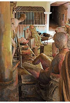 Aftermath. Escuela National de Bellas Artes, Santo Domingo,2001