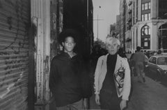 Andy Warhol and Jean-Michel Basquiat, Mercer Street, 1985 Edition 250