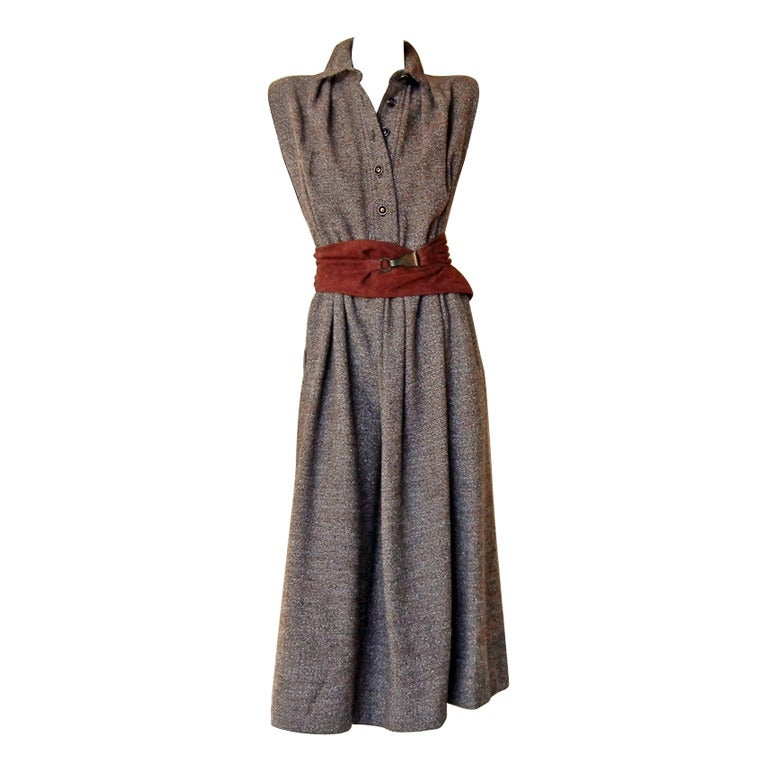 Rare Claire McCardell Monastic Dress with provenance Collectors, Museums For Sale