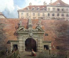 Vienna - CIRCLE OF RUDOLPH VON ALT - Watercolor, Austrian