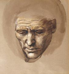 Head of a Sleeping Courtier, STUDIO OF SIR EDWARD COLEY BURNE-JONES, British