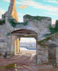Gateway in Achill Island, County Mayo, Ireland