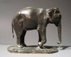 Le Jeune Eléphant, Bronze, Paul Simon, circa 1920
