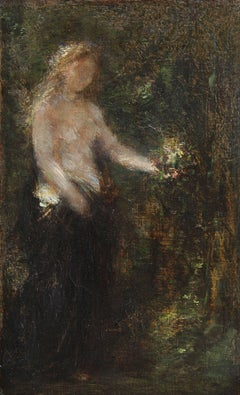 A la Mémoire de Schumann, Oil on Canvas, Henri Fantin-Latour, French