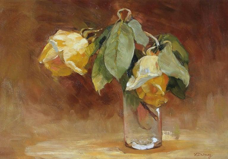 Yellow Roses - Victoria Dubourg Fantin-Latour - French