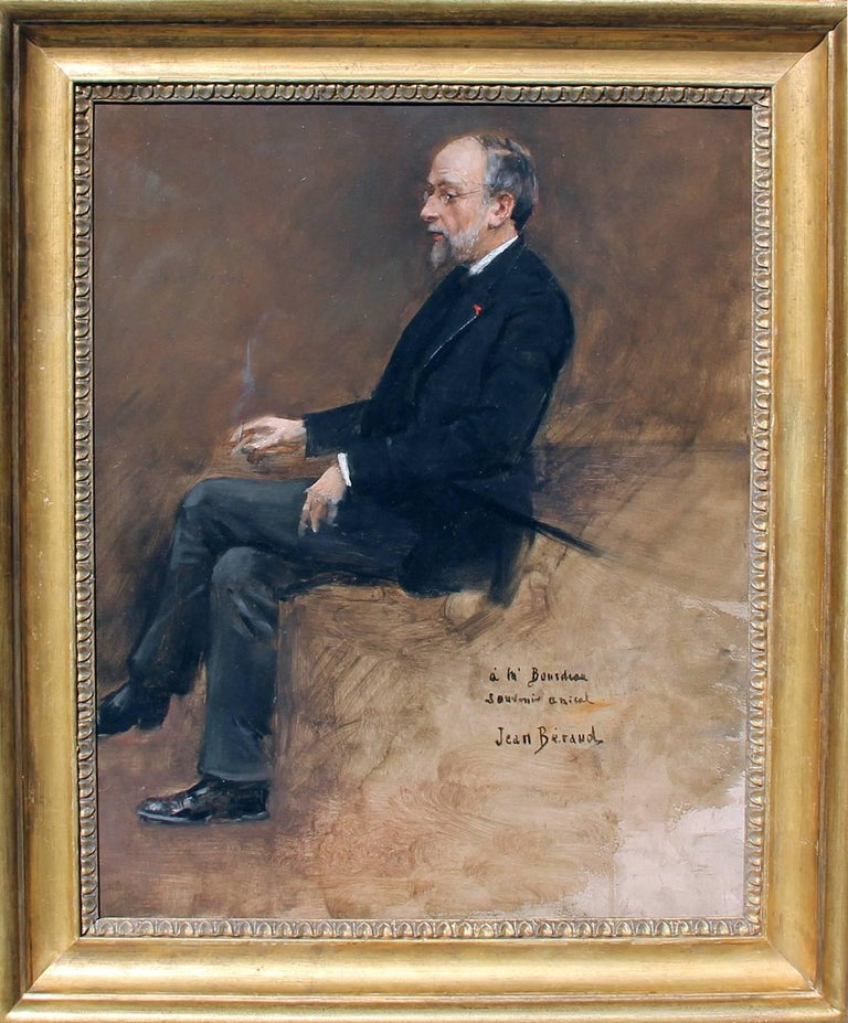 Portrait of Hippolyte Taine - Jean Béraud - French - 1889  For Sale 1