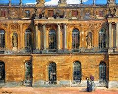 Palais de Versailles - Alexander Jamieson - British - 1910 - Oil on Canvas