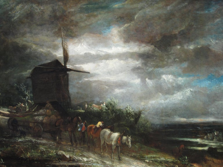 The Old Windmill - John Crome - British - Oil on Canvas