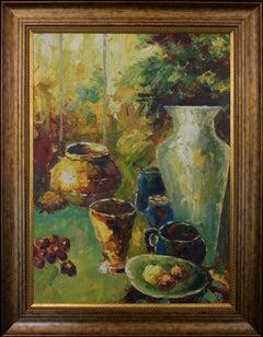 Stunning Large Still Life Oil Painting