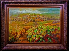 Large Original Landscape Impressionistic Oil Painting