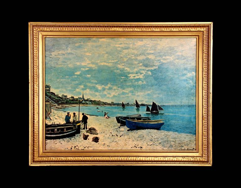 Unknown - Vintage Claude Monet Reproduction of \