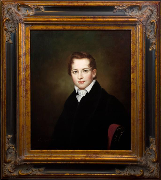 """Fantastic Original Oil Painting – """"Portrait of a Scholar"""""""