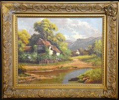 Signed H. Voss Oil on Canvas