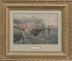 "Thomas Blinks Hand-Tinted Photogravure ""Stolen Away"""